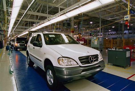Mercedes In Alabama daimler werk tuscaloosa alabama goes electric