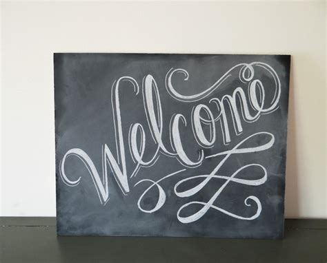 design google sign welcome chalkboard sign google search wedding ideas