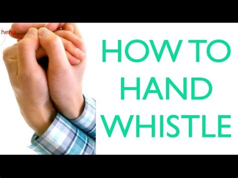 how to with a whistle loud fingerless whistle tutorial doovi