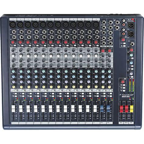 Audio Mixer Soundcraft Efx12 soundcraft mpmi 12 mixer musician s friend