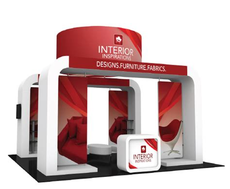 3d Container Home Design Software trade show displays booths exhibits pop up table top