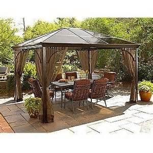 Outdoor Canopies And Gazebos by Hardtop Gazebos Outdoor Canopies Bizrate
