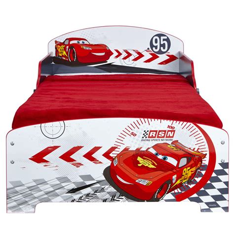 disney car bed disney cars junior toddler bed storage shelf new boxed