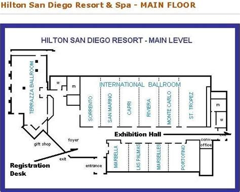 hilton hotel room layout 2011 hotel page national hydrologic warning council