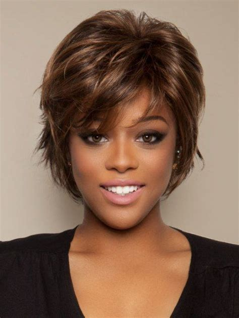 american n wavy hairstyles 30 best images about hairstyles for short thick wavy