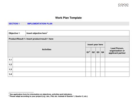best photos of sle work plan format sle work plan