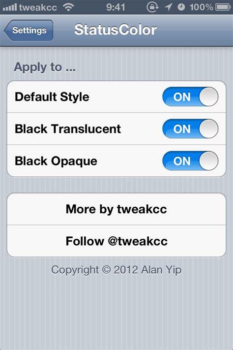 iphone 4s apk changer la couleur de la status bar avec status color iphone astuces iphone 5 iphone 4s