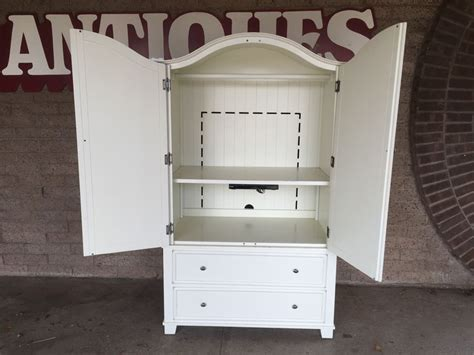 pottery barn armoire used white pottery barn armoire