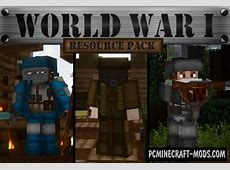 World War I Resource Pack For Minecraft 1.13.2, 1.13.1, 1 ... Realistic Texture Pack
