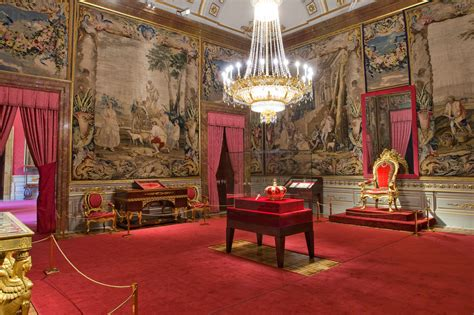 the crown room the royal palace of madrid unofficial royalty