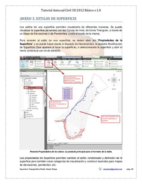 tutorial ci 3 pdf tutorial autocad civil 3d 2012 bc3a1sico v