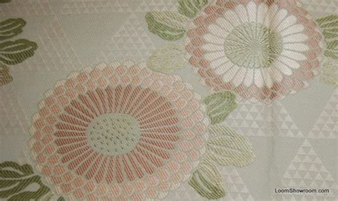 asian inspired upholstery fabric tapestry asian style flower magnificent pale sage green