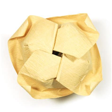 origami swirl how to make a new swirl kawasaki origami flower page 46