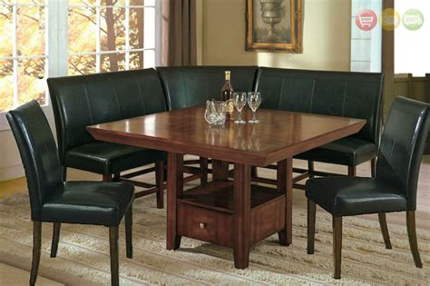 dining room table with bench seat dining table corner bench seat 187 gallery dining