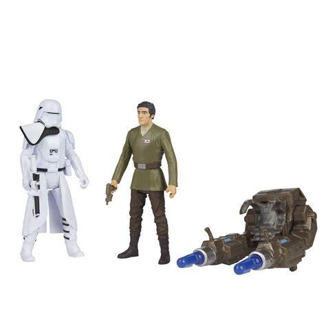 Toys 322 Wars Awakens Order Snowtrooper Offic wars ep7 the awakens 1st order snowtrooper vs poe dameron 3 3 4 quot figure 2pk