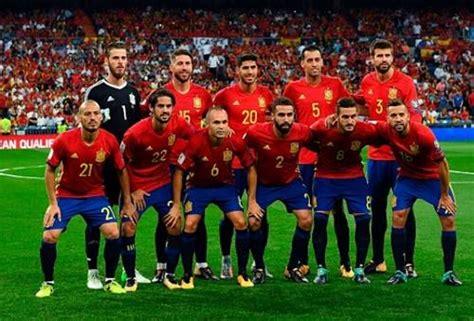 daftar skuad pemain timnas spanyol  terbaru update