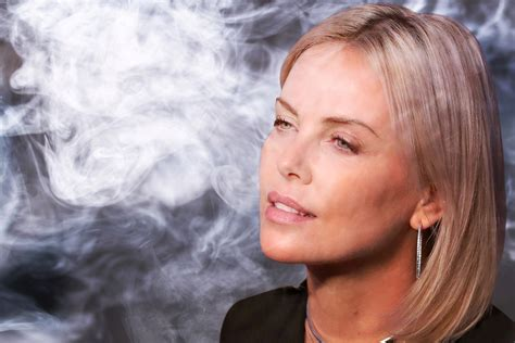 Charlize Theron Got Rid Of The Black Do by Charlize Theron Used To Be A Stoner Page Six