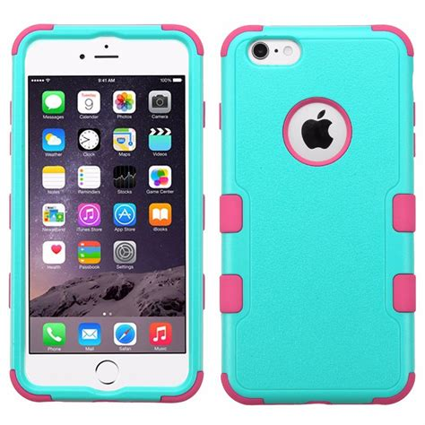 fundas iphone 6 funda case doble protector uso rudo para iphone 6 plus