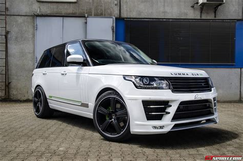 land rover lumma official lumma design range rover vogue clr sr gtspirit