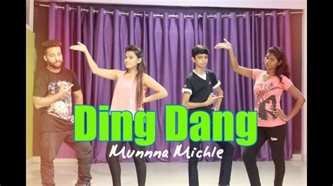 tutorial dance on ding dang ding dang dance by step up dance academy dhar youtube