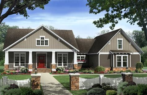 4 Bedroom Craftsman House Plans by Craftsman Style House Plans 2400 Square Foot Home 1