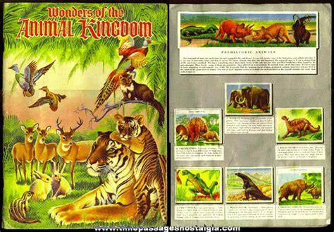 Animal Kingdom Sticker Book 169 1959 wonders of the animal kingdom sticker book tpnc