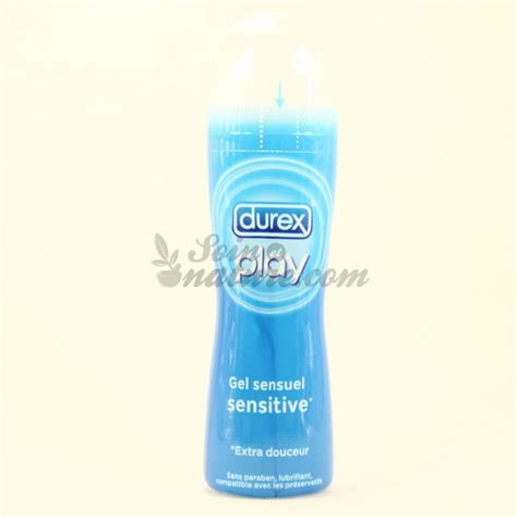 Durex Play Gel 50ml durex play gel sensuel sensitive 50ml gel lubrifiant