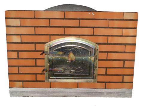 Porte Four A Pizza 3172 by Four 224 Et Pizza Avec Porte Sur Fa 231 Ade En Briques Le