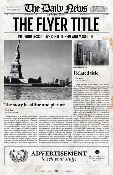 adobe newspaper template 2x1 page newspaper template adobe indesign 8 5x11 11x17