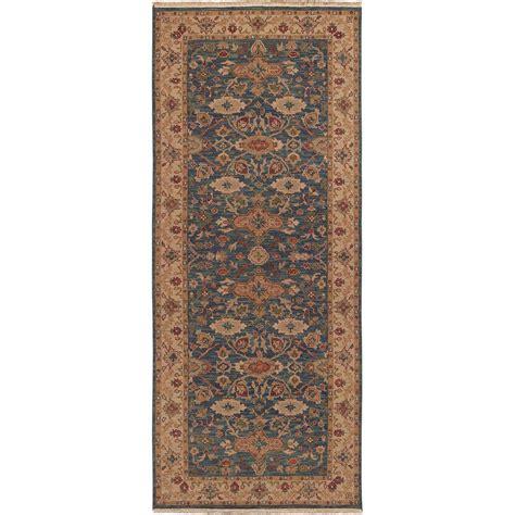 10 foot rug runners artistic weavers rochester blue 4 ft x 10 ft rug runner rochester 410 the home depot