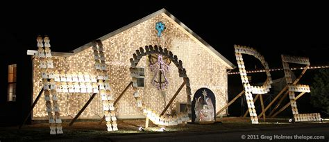 carthage mo drive thru christmas lights this is from 2011 when the display honored victims of the joplin tornado