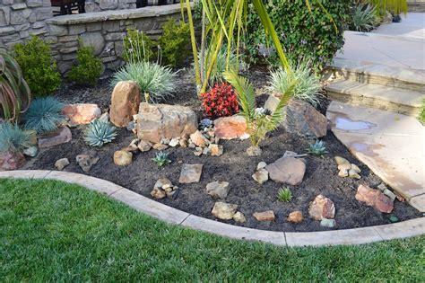 simple rock garden simple rock garden