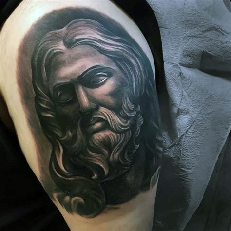 black jesus tattoo 100 jesus tattoos for cool savior ink design ideas