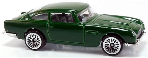 Diecast Hotwheels Aston Martin Db5 1963 Collector aston martin 1963 db5 72mm 2014 wheels newsletter