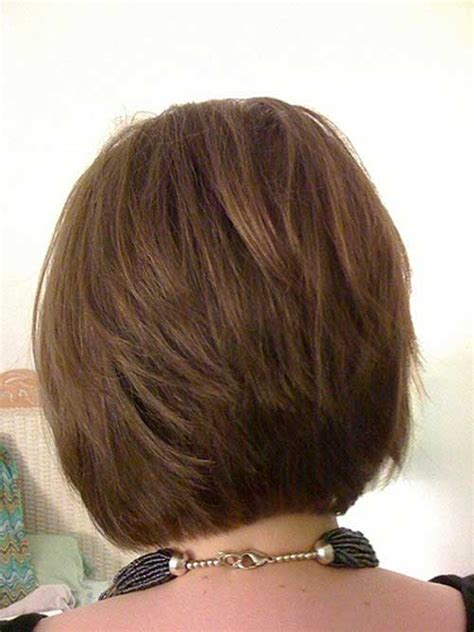 photos of the back of a haircut with a w neckline stacked bob haircut back view newhairstylesformen2014 com