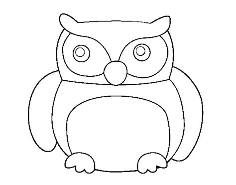 coloring pages of big owl big owl coloring page coloringcrew com