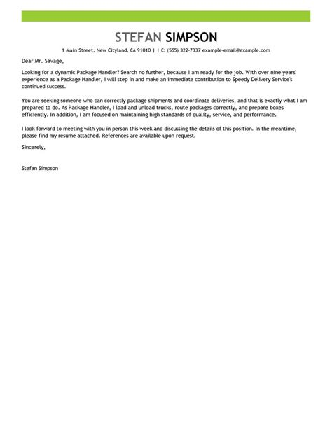 Cover Letter For Material Handler – resume objective insurance claims   Worksheet Printables Site
