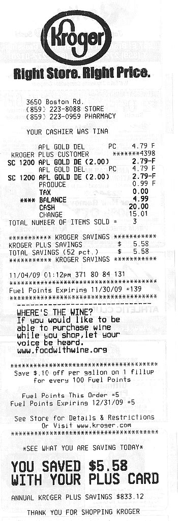 Grocery Receipts Template by 2nd Batch Of Grocery Receipts At Home With Guinever