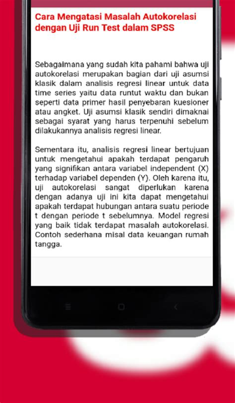 panduan tutorial panduan spss unofficially tutorial guide android apps