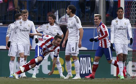 real madrid atletico de madrid 2015 real madrid hammered 4 0 by neighbours atletico enca