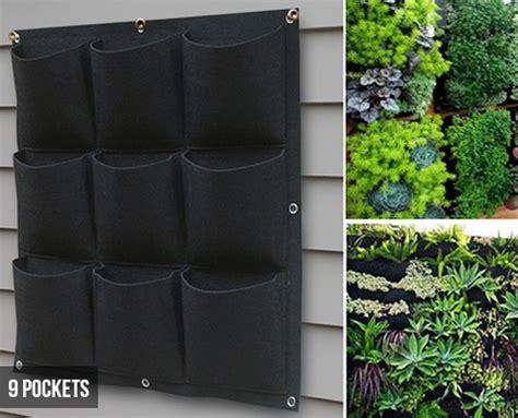hanging vertical garden planter bags grabone store