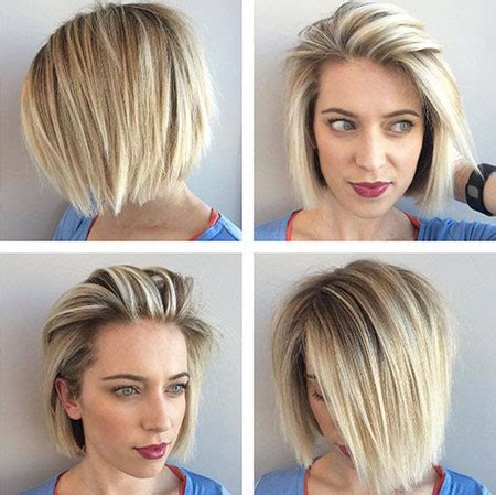 short hairstyle to wear straight or curly 25 short straight blonde hairstyles 2017 2018 short
