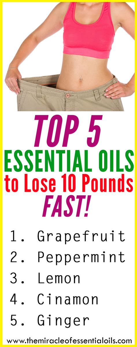 Lose 10 Pounds In 4 Hours Salt Water Detox by Top 5 Essential Oils To Lose 10 Pounds Fast The Miracle