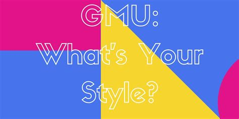 Gmu Finder Gmu What S Your Style Cable Network