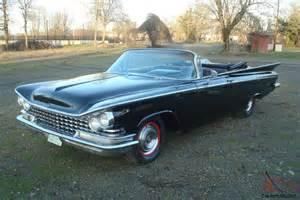 1959 Buick Lesabre 1959 Buick Lesabre Convertible Black Original