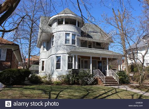 buy house in queens ny queen anne shingle style house richmond hill queens new york stock photo royalty