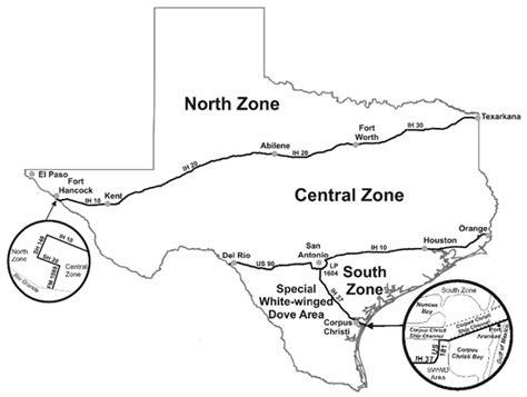 dove migration map texas texas dove season for 2016 2017 rack range
