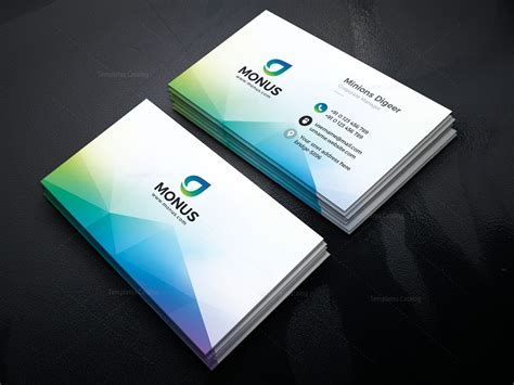 Modern Business Cards Design Templates by Modern Business Card Design Template 001593