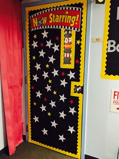 hollywood news now hollywood theme classroom door now starring hollywood