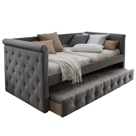 Daybed Sofa With Trundle by Arles Single Sofa Daybed With Trundle Temple Webster
